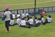 School Kids: In the VIP area