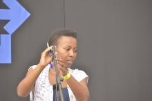 Mandisa Mabuthoe from Botswana at HIFA