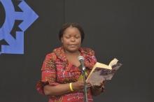 Award winning author Pettina Gappah reads from her book at HIFA