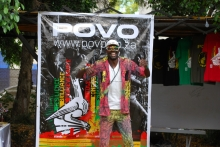 Another colourful POVO fan