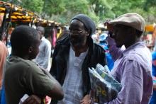 Fambai Ngirande and Victor Kunonga