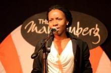 Mandisa Mabuthoe, Botswana at Shoko Poetry Slam Express
