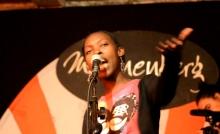 Flochyld, Zimbabwe at Shoko Poetry Slam Express