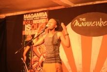 Lungile Lethola South Africa at Shoko Poetry Slam Express
