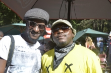Robert Machiri with Heby Dangerous both based in Johannesburg