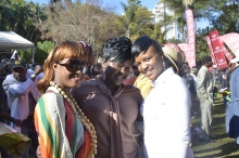 Socialites at the Sulumani Chimbetu Show